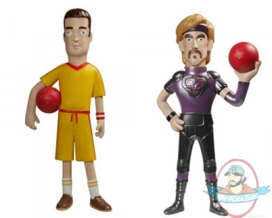 Dodgeball Set Of 2 Vinyl Idolz 8 Inch By Funko Man Of