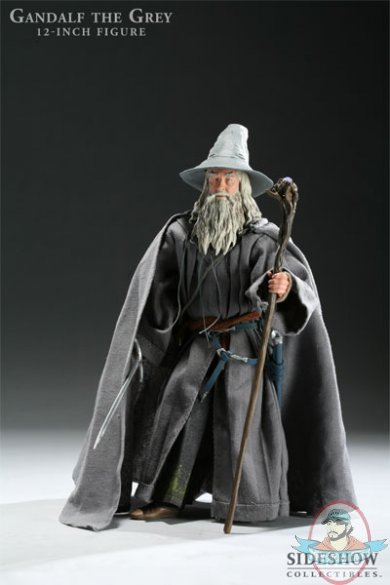 lord of the rings gandalf the grey exclusive 12quot figure