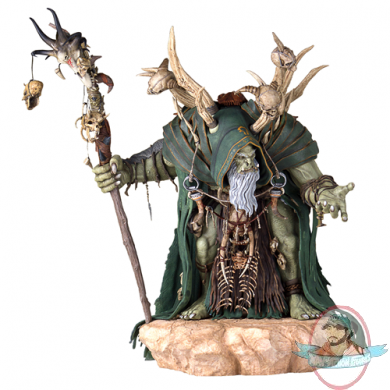 Warcraft Movie Guldan 18 Inch Statue By Gentle Giant Man