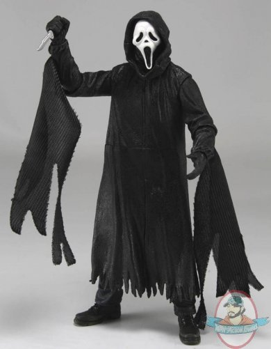 Scream Ghostface 7 Inch Action Figure By Neca Man Of