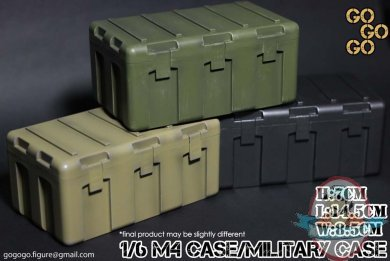 1 6 Scale M4 Case Military Case Black Man Of Action
