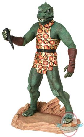 Star Trek 1 6 Scale Gorn Statue By Hollywood Collectibles