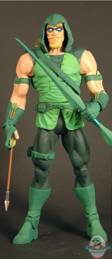 Dc Universe Classics Wave 20 Green Arrow Hooded Cnc Nekron