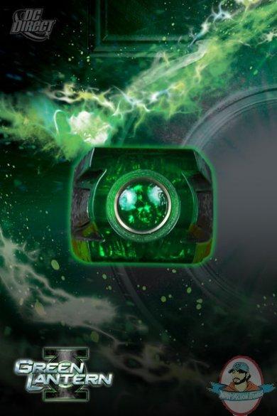 green lantern ring prop. SKU: Green Lantern Movie Power