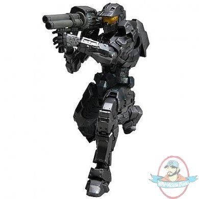 Halo Mark V Black Spartan Play Arts Kai Action Figure By