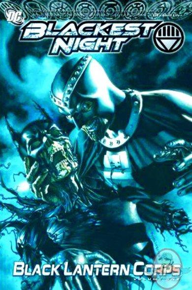 Blackest Night Black Lantern Corps Hard Cover Vol 01 DC