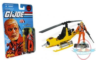G I Joe Exclusive Adventure Team Air Adventurer With Helicopter 3 3