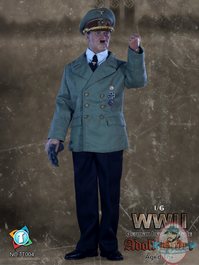 Tittoys 1 6 Scale Wwii German Head Of State Adolf Hitler B