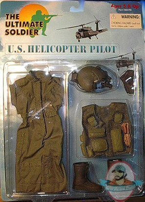 12 Quot Ultimate Soldier U S Helicopter Pilot Set By 21st