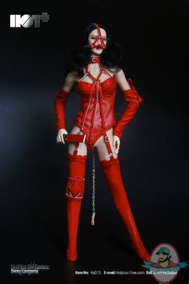 1 6 Action Figure Accessories Sexy Lingerie In Red Hp 015