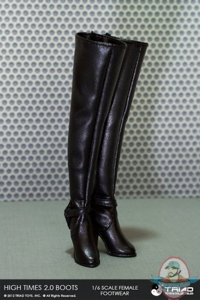 1 6 Scale High Times 2 0 Female Boots By Triad Toys Man