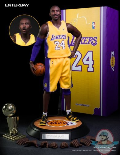 1/6 Real Masterpiece NBA Kobe Bryant LA Lakers Action Figure ...