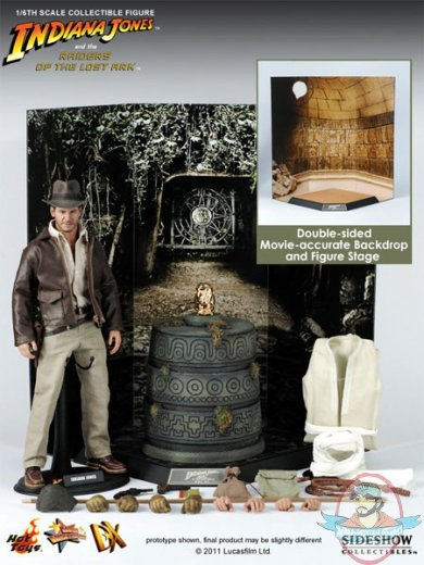 Mms Dx Raiders Of The Lost Ark 1 6 Scale Indiana Jones Hot