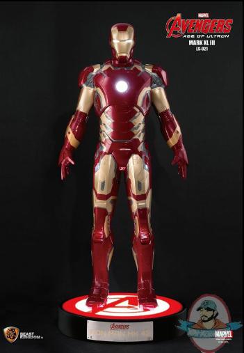Marvel Life Size Iron Man Mark 43 Avengers Age Of Ultron