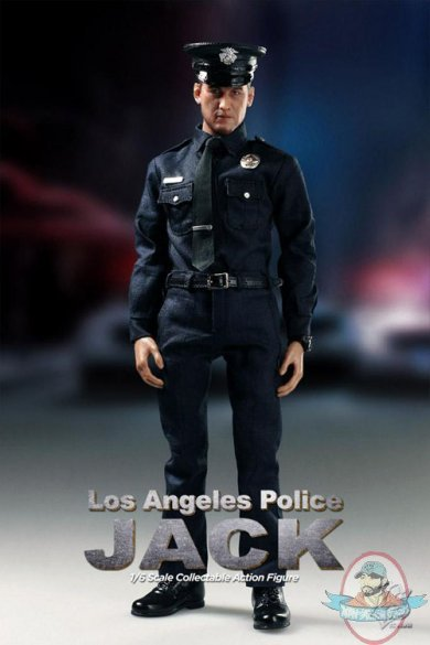 Zc World 1 6th Scale Los Angeles Police Jack Man Of