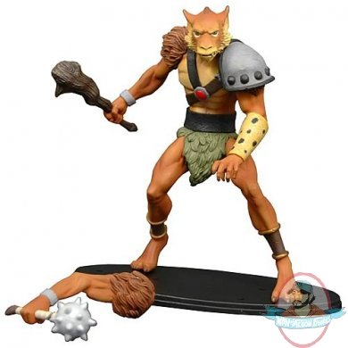 Thundercat Figures on Thundercats Jackalman Staction Figure By Icon Heroes   Man Of Action