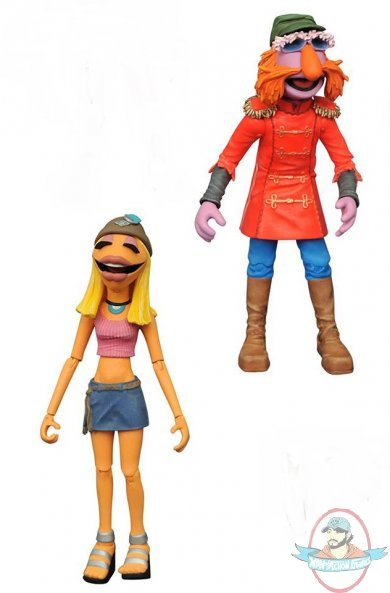 the muppets select series 3 electric mayhem amp janice by
