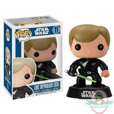 Star Wars Jedi Luke Skywalker Pop Vinyl Figure Bobble