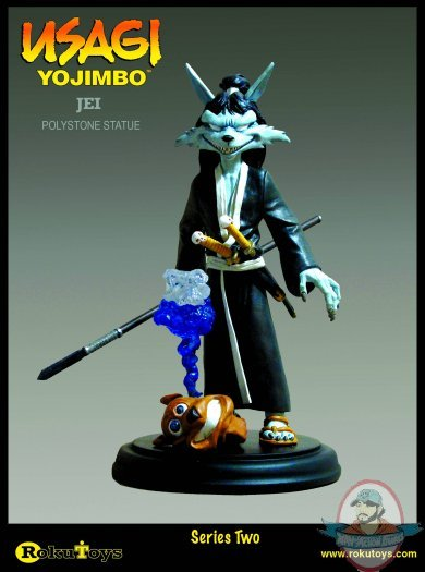Usagi Yojimbo Jei Statue Man Of Action Figures