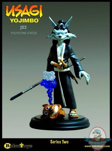 Usagi Yojimbo Jei Statue Man Of Action Figures