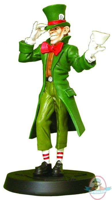 DC Superhero Fig Coll Mag # 104 Jervis Tetch Mad Hatter ...
