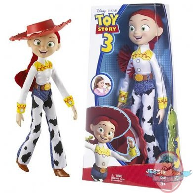 Toy Story 3 Jessie Doll By Mattel | Man Of Action Figures