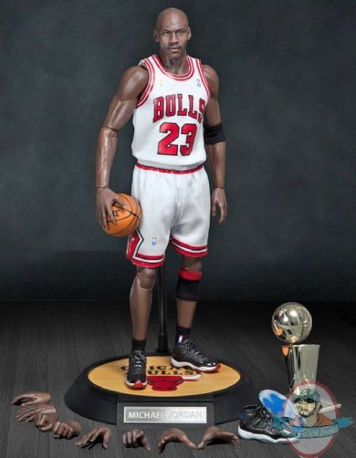 ebd8fd63d507 1 6 Masterpiece NBA Michael Jordan Chicago Bulls Figure Enterbay ...
