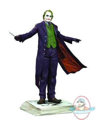 Dark Knight The Joker Statue Kolby Jukes Heath Ledger ...