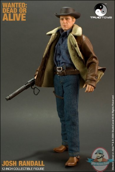 Josh Randall Wanted Dead Or Alive 1 6 Scale 12 Inch Figure
