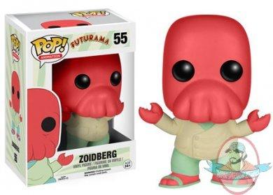 Pop Television Futurama Doctor Zoidberg 55 Vinyl Figure