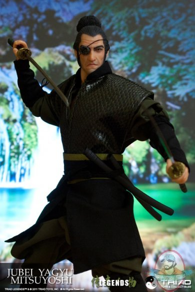 Triad Legends Jubei Yagyu Mitsuyoshi 12 Inch Figure By Triad Toys Man Of Action Figures