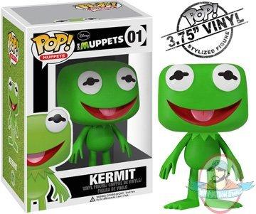 Pop Muppets Kermit The Frog Vinyl Figure By Funko Man