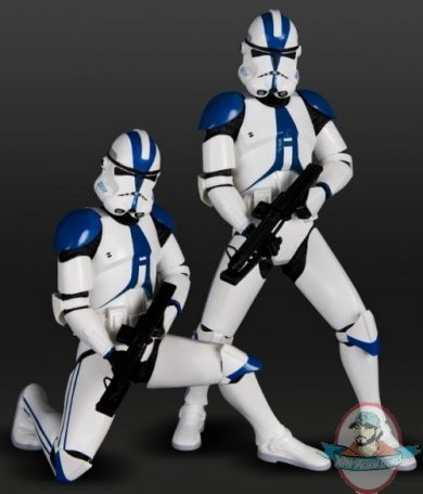 Star Wars 501st Clone Trooper 2 Pack Artfx Statue By