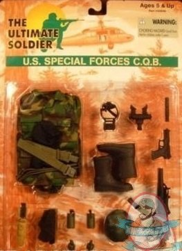 Ultimate Soldier 1 6 Us Special Forces Cqb Weapon Set 12
