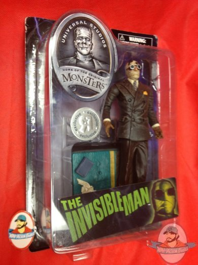 Universal Monsters The Invisible Man Tru Exclusive Action
