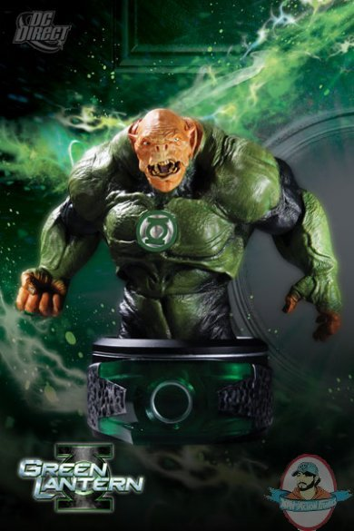 Green Lantern Movie Kilowog Bust By Dc Direct Man Of