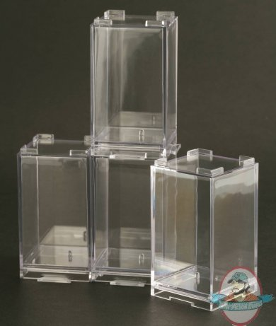 Store Your Favorite Kubrick And Be@rbrick Figures From Medicom In These  Clear Plastic Storage Units! These Elegant Cases Will Fits Most 100% Scale  Figures, ...