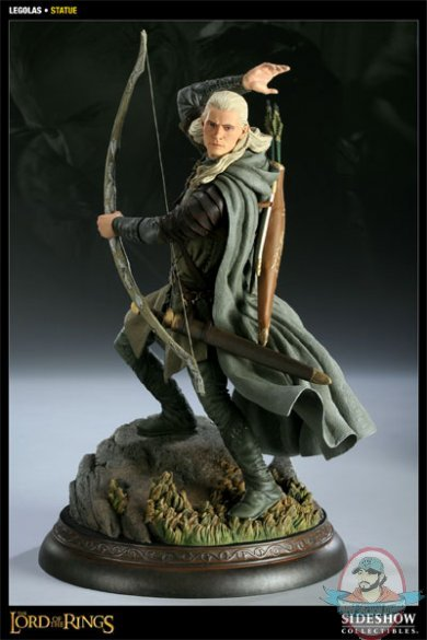 Lord Of The Rings Legolas Polystone Statue By Sideshow
