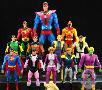 Legion of Super Heroes 4er Set DC Universe Justice League Unlimited