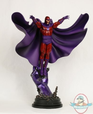 magneto action statue by bowen designs man of action figures. Black Bedroom Furniture Sets. Home Design Ideas