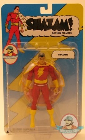 Shazam Series 1 Captain Marvel Moc Dc Direct Action Figure