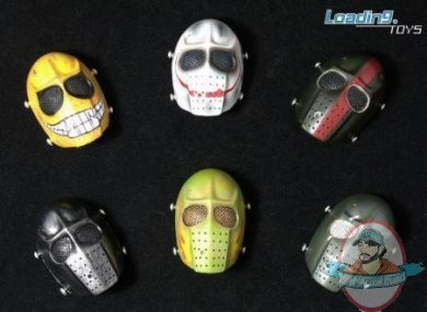 "1//6th black mask Model For 12/"" Action Figure Doll"