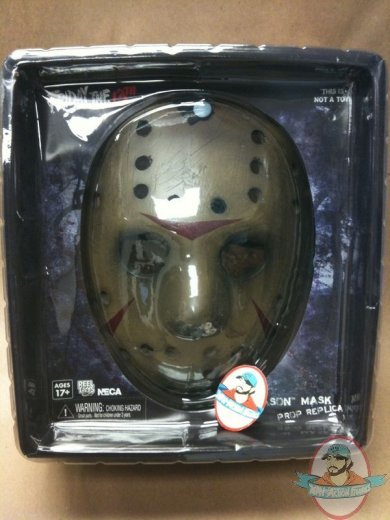 freddy vs  jason jason voorhees mask prop replica by neca