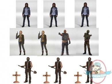 mcfarlane walking dead series 9 figures