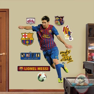 Fathead Lionel Messi 2012 Fc Barcelona Man Of Action Figures