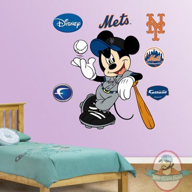 Fathead Fat Head Mickey Mouse New York Mets Man Of