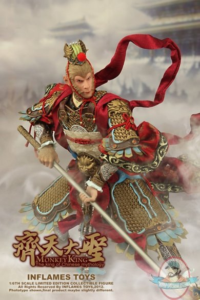1 6 Scale Limited Collectible Monkey King Figure By