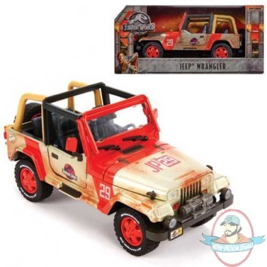 Jurassic World: Fallen Kingdom Jeep 1:18 Die-Cast Vehicle