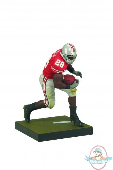 Football Players Toys For Toddlers : Ncaa football series beanie wells ohio state by
