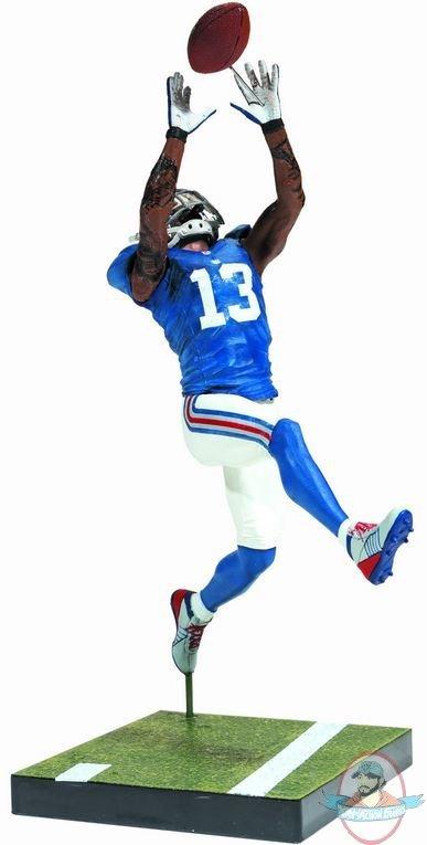 Football Players Toys For Toddlers : Nfl series odell beckham jr new york giantsfigure